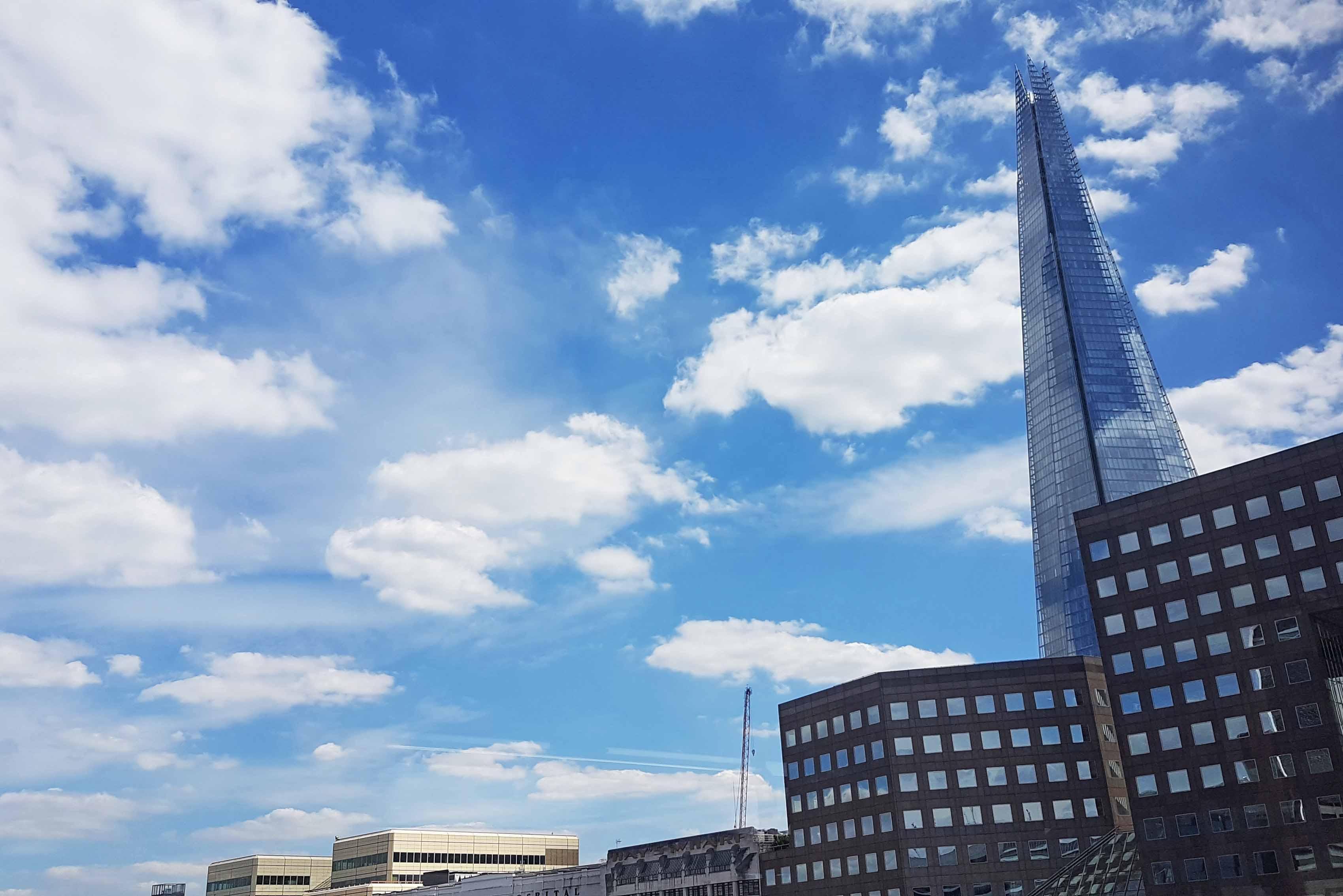 Edifício The Shard, em Londres