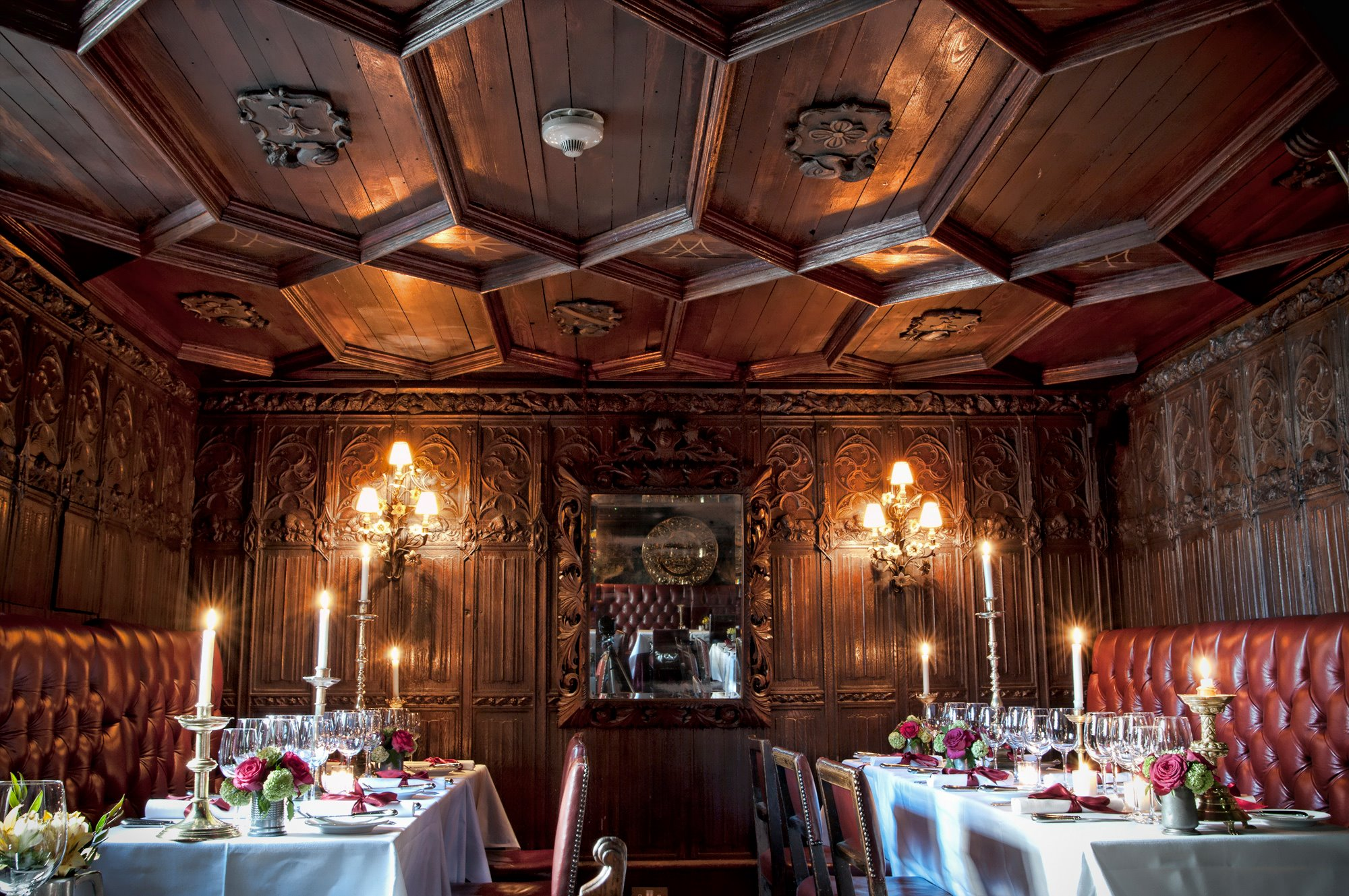 The Witchery by the Castle - restaurante tradicional em Edimburgo | foto: divulgação
