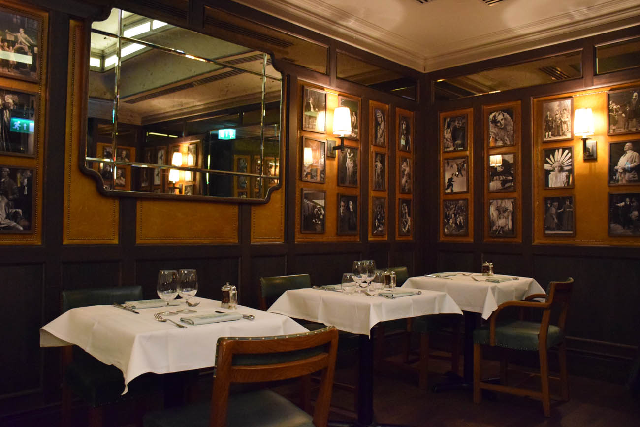 The IVY Market Grill em Covent Garden - Londres