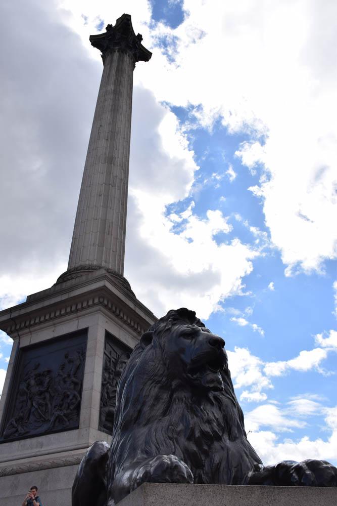Monumento na Trafalgar Square, Londres