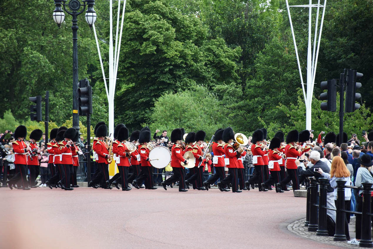 Troca da guarda no Palácio de Buckingham - Londres