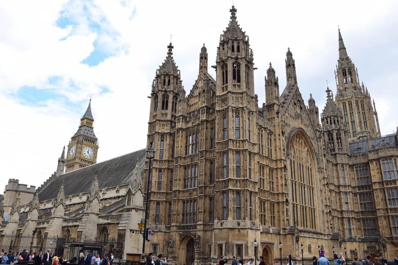 Além do Big Ben: Palácio de Westminster (Parlamento Britânico)