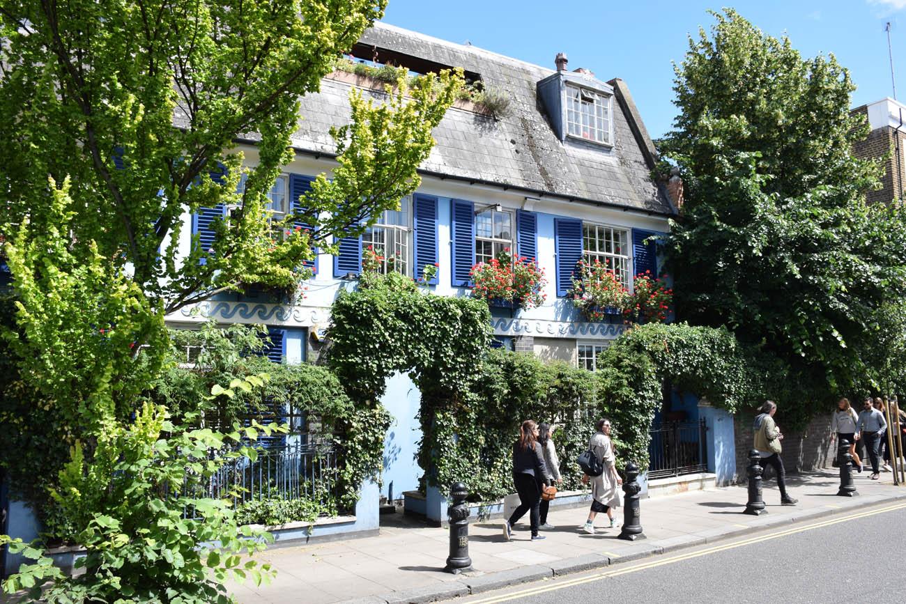 Notting Hill - bairro fofo em Londres
