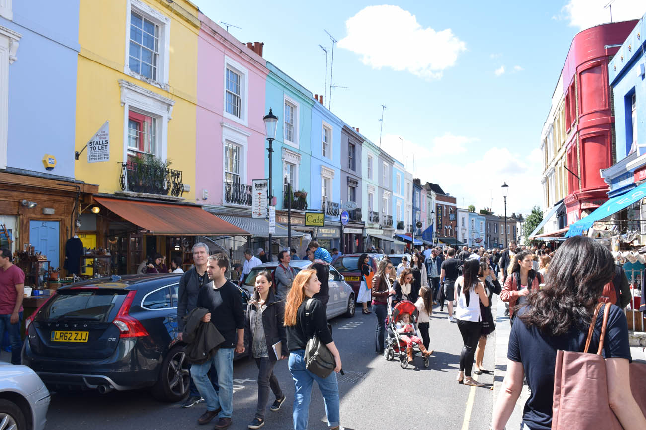 Portobello Road Market - Notting Hill