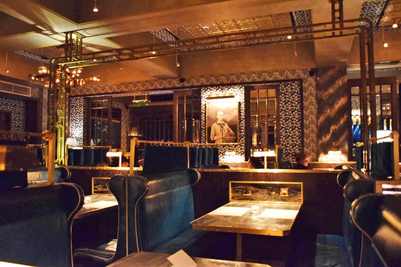 Restaurante Bob Bob Ricard - Londres