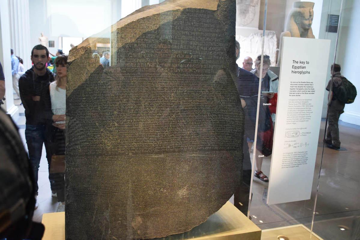Rosetta Stone - British Museum - Londres