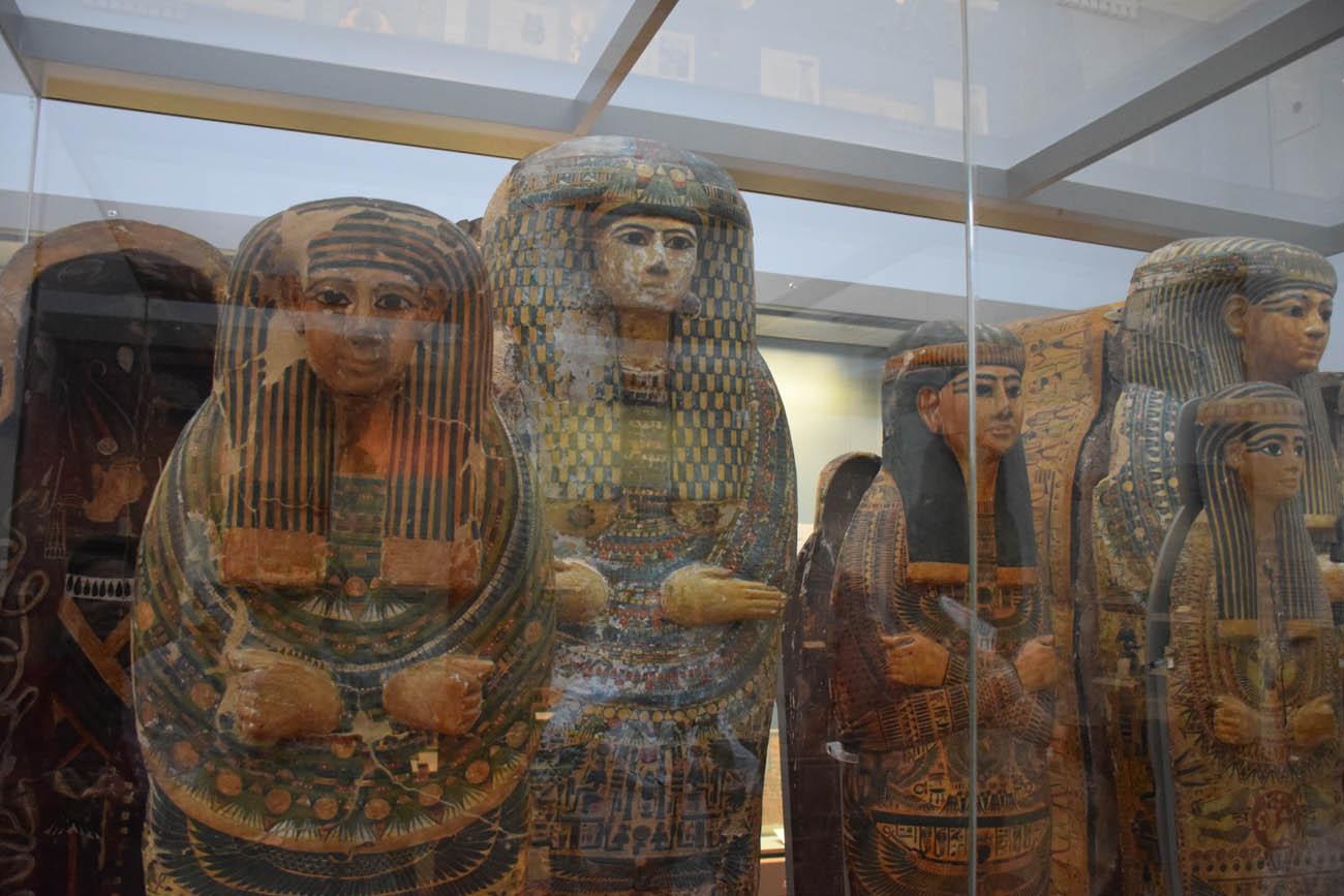 Ala do Antigo Egito e suas múmias | British Museum - Londres