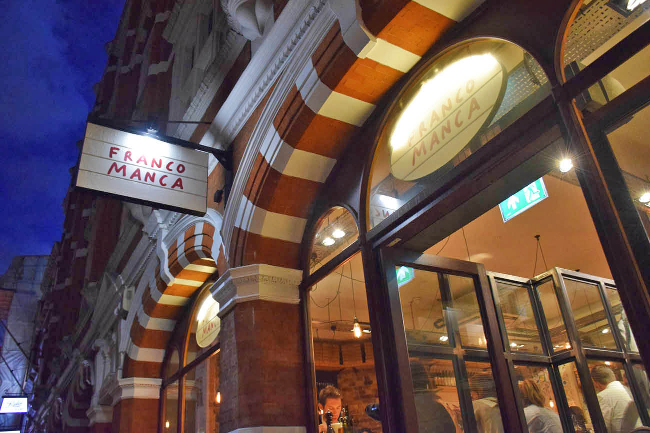 Franco Manca Sourdough Pizza em Covent Garden