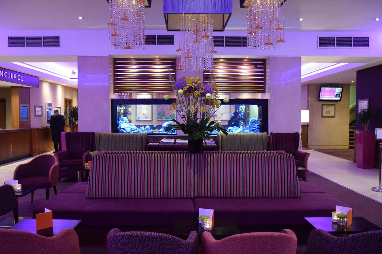 Lobby - Strand Palace Hotel - Londres