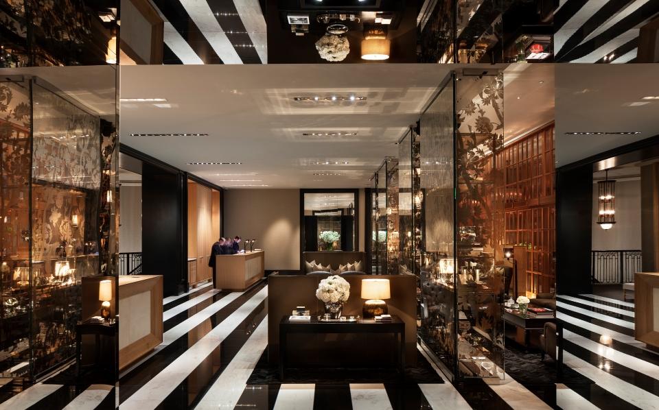 Lobby do Hotel Rosewood London | foto: divulgação