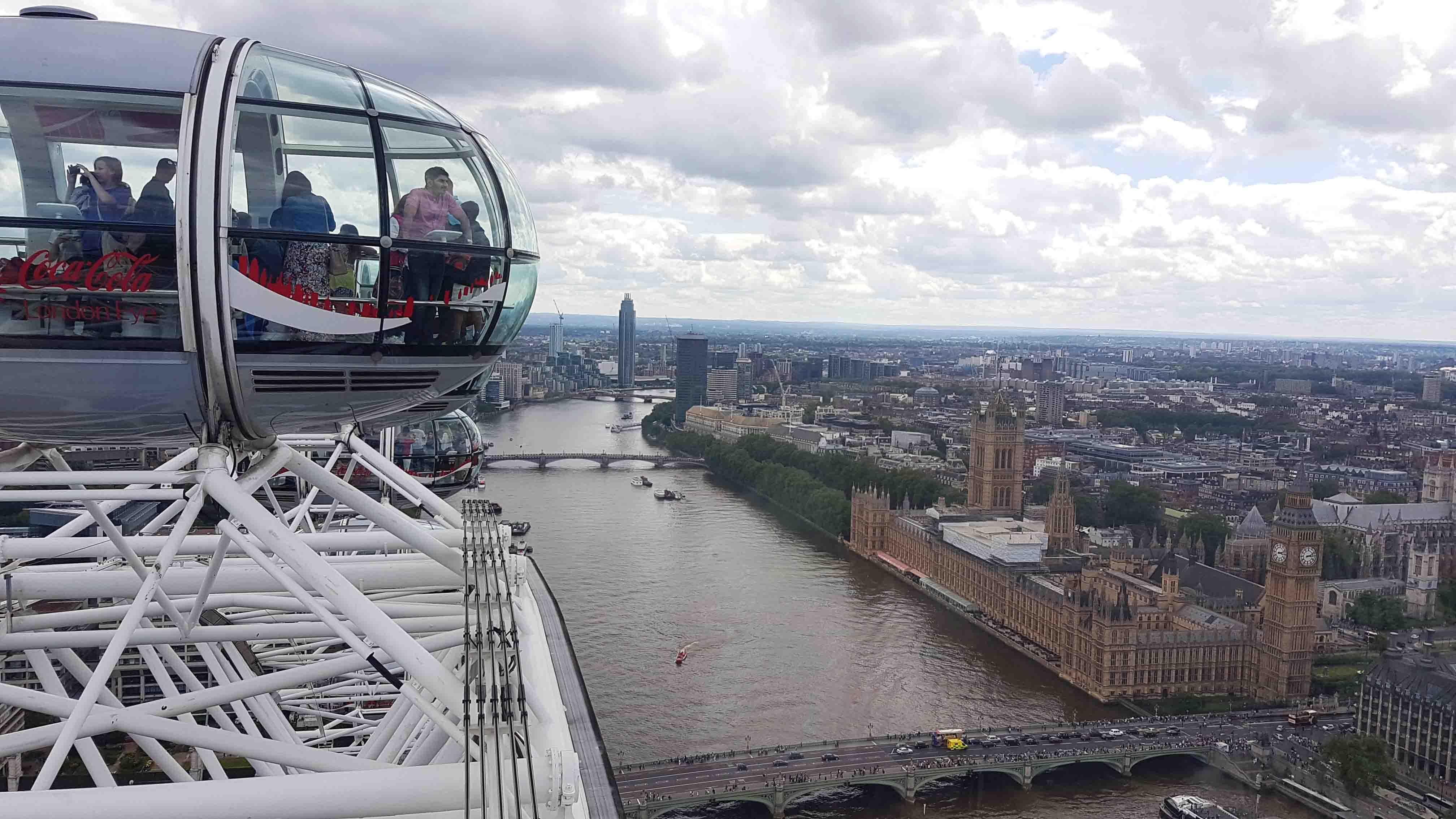 Cabines da London Eye
