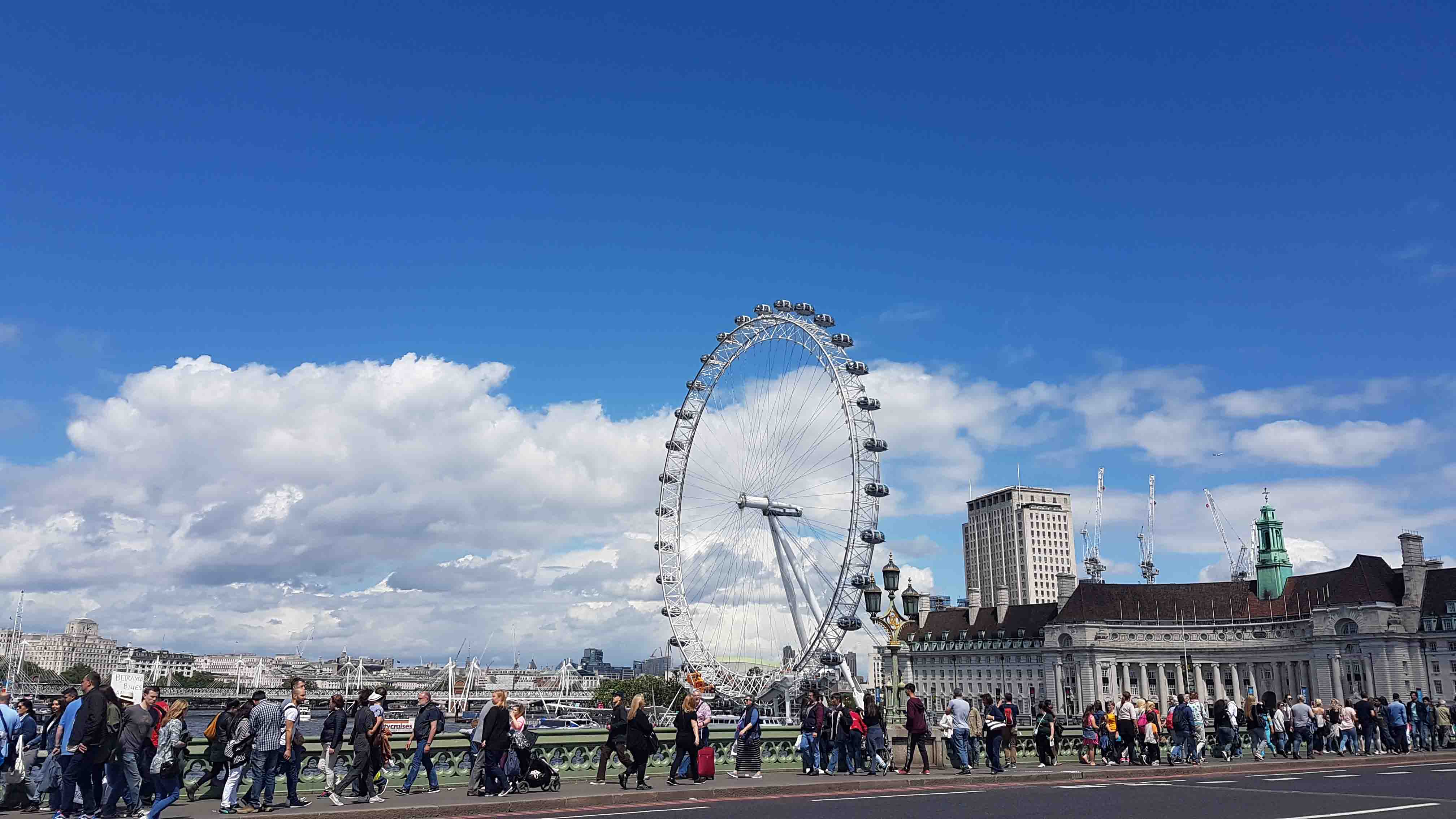 London Eye - roda gigante de Londres