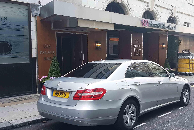 Carro da VIP Turismo Londres