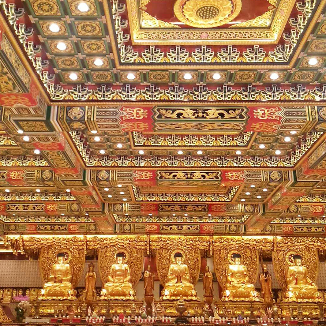 Hall of Ten Thousand Buddhas - Po Lin Monastery - Hong Kong