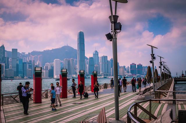 Avenue of Stars - Hong Kong | foto: Bertrand Duperrin para Flickr (CC)