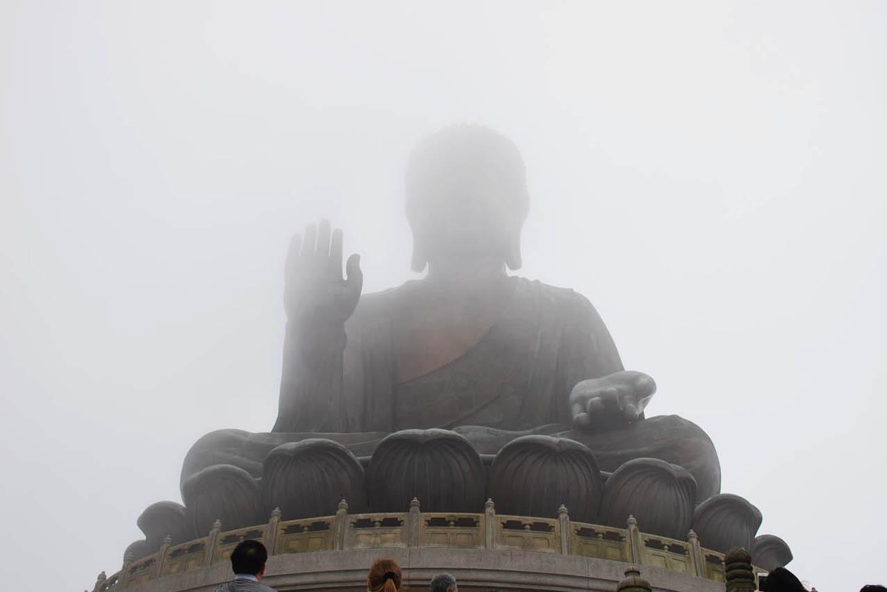 Tian Tan Buddha, mais conhecido como Giant Budhha, em Hong Kong