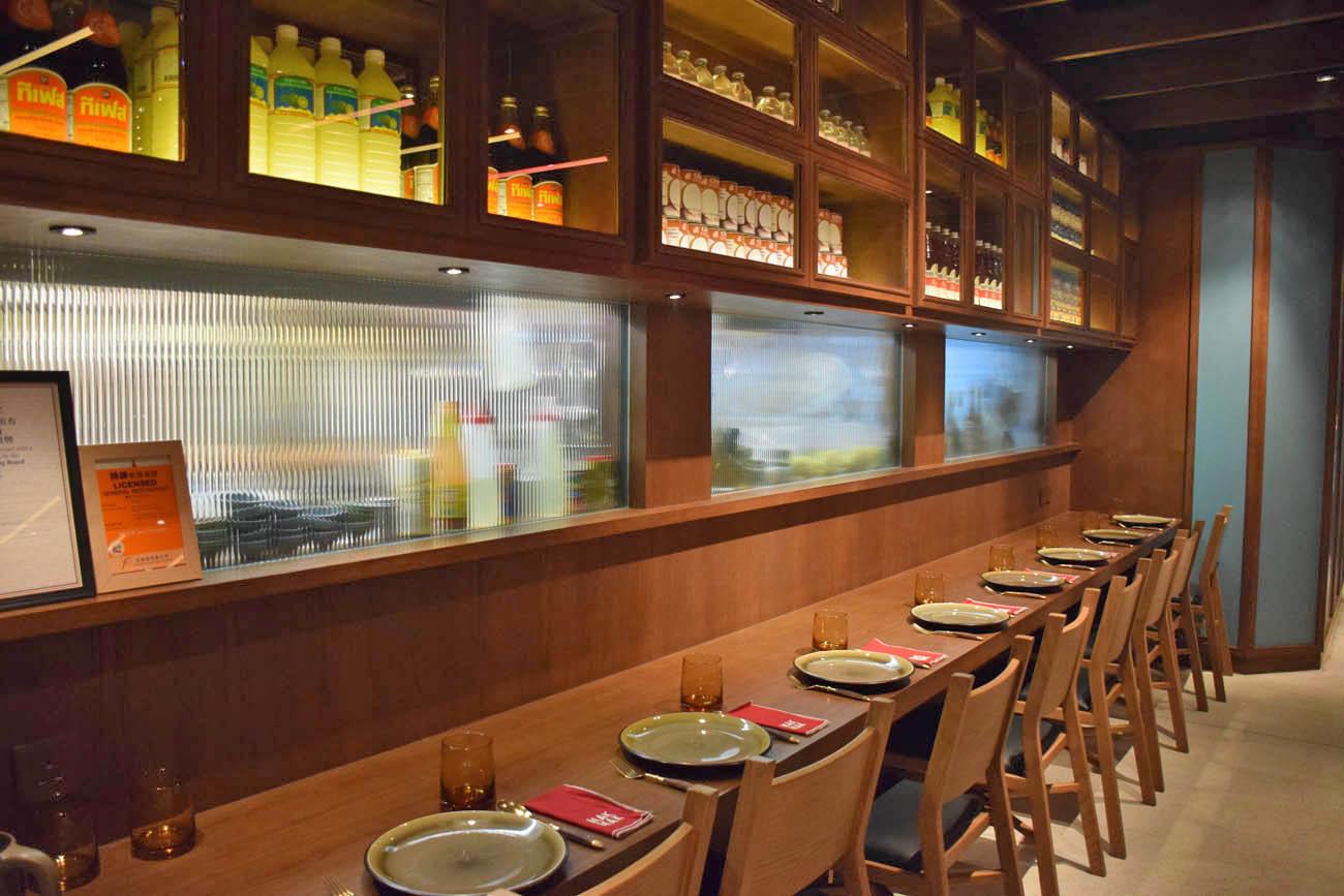Restaurante tailandês Mak Mak, no The Landmark Hong Kong