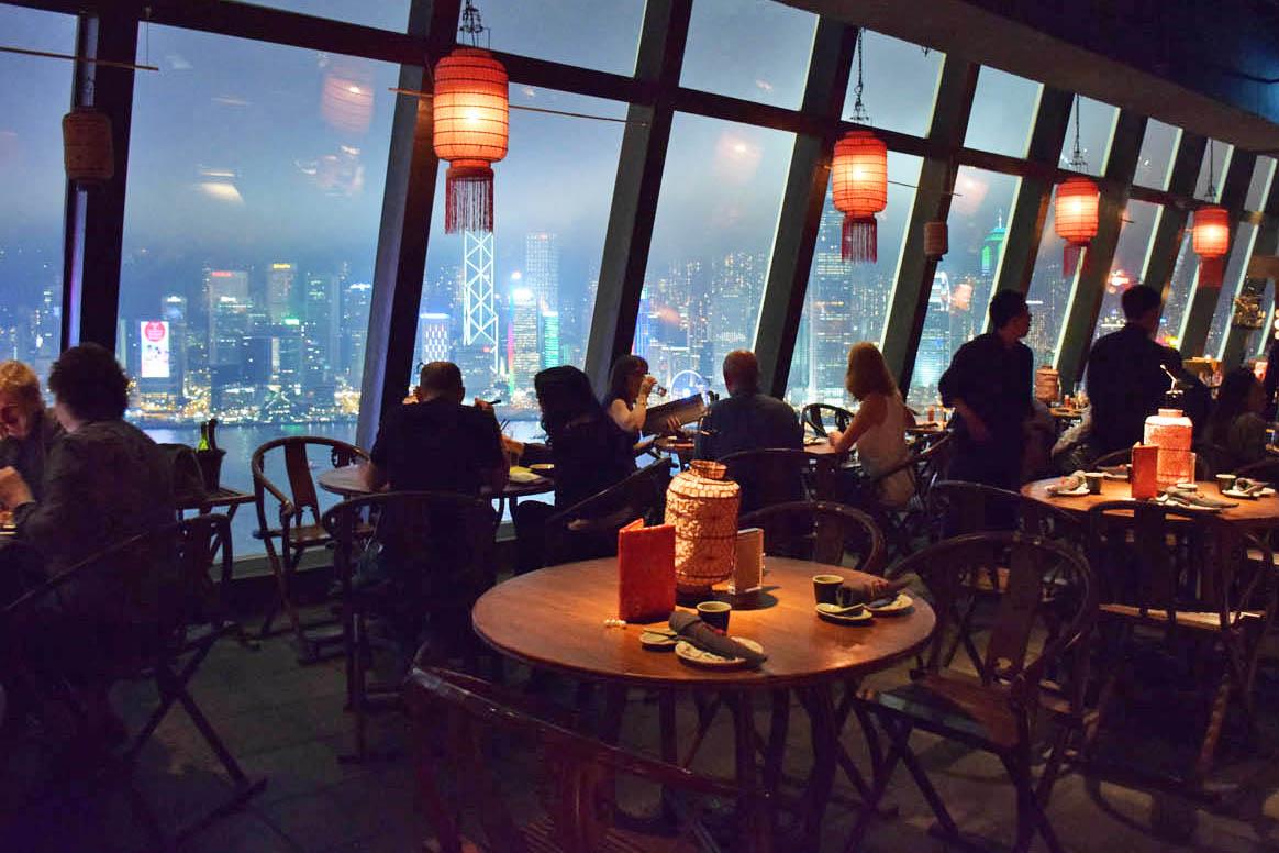 Hutong, Hong Kong - considerado o melhor restaurante chinês do mundo