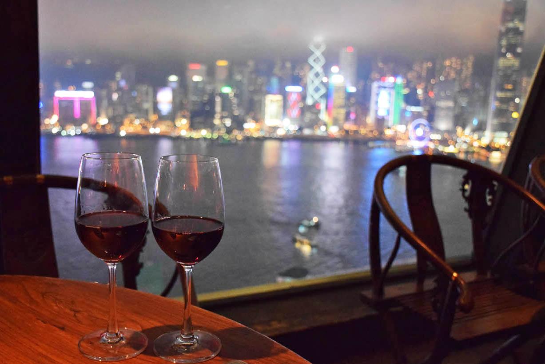 Restaurante Hutong em Hong Kong