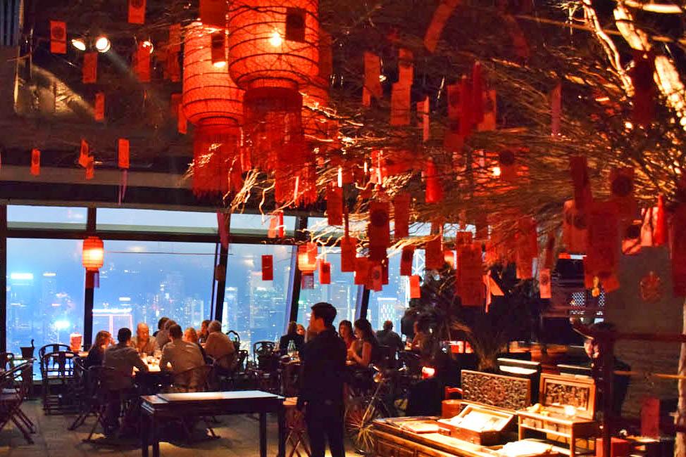 Tudo é lindo e cheio de detalhes - Restaurante Hutong, Hong Kong