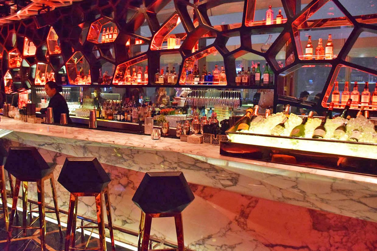 Bar OZONE - Hong Kong