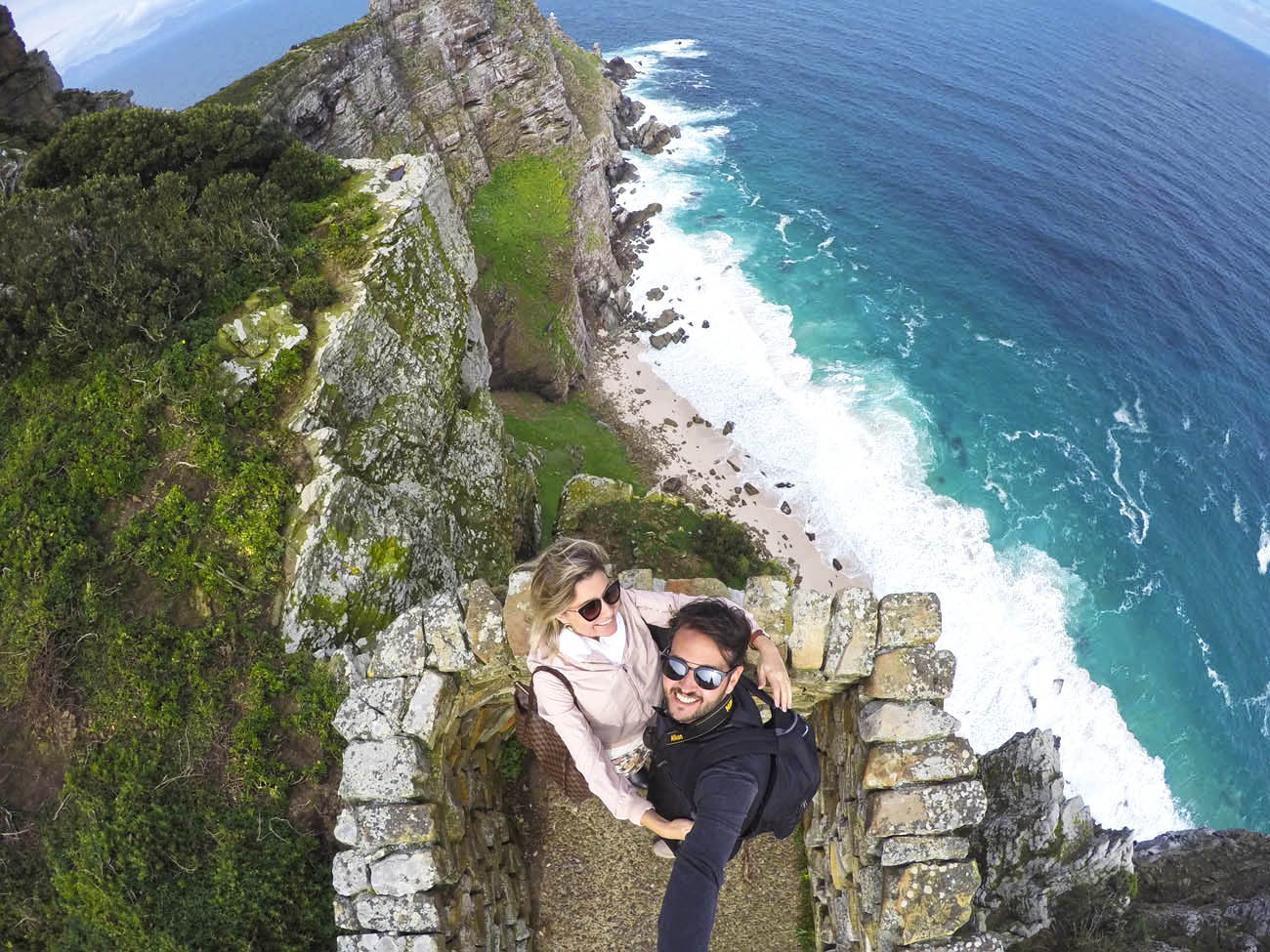 Cape Point - África do Sul: o encontro de dois oceanos