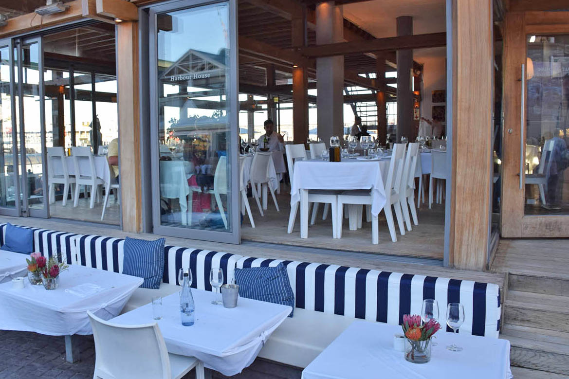 Restaurante Harbour House no Waterfront de Cape Town