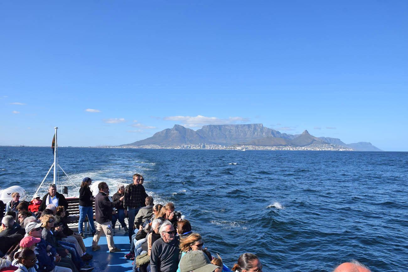Balsa para Robben Island