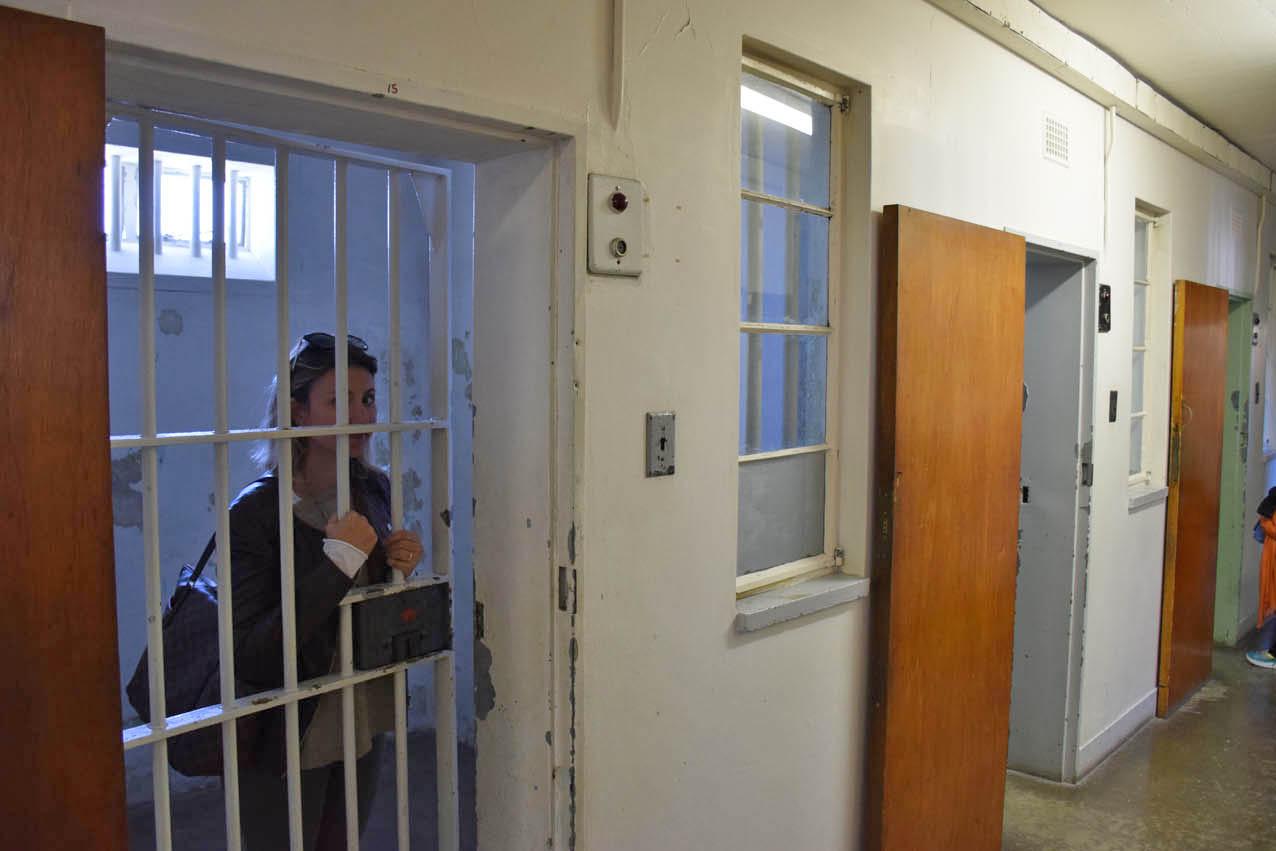 Conhecendo as celas da Robben Island