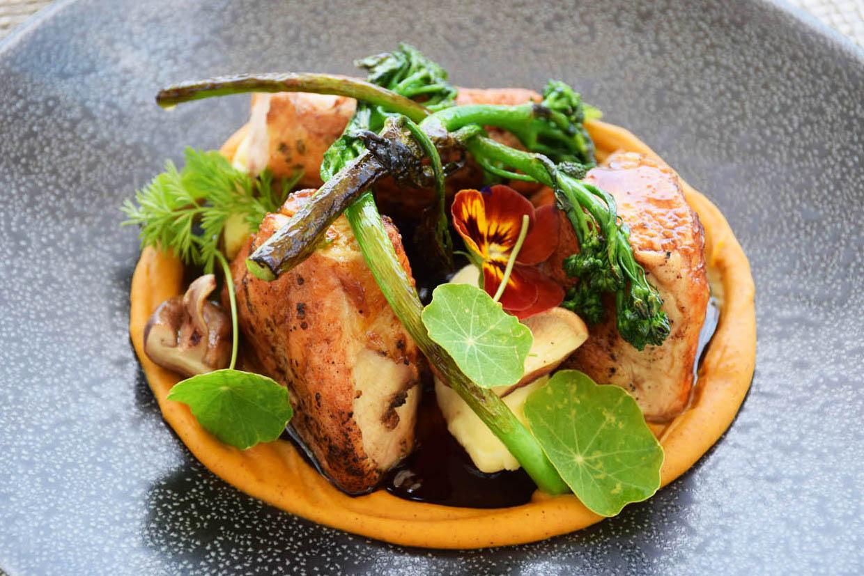 Lindo!!! Meu prato no Delaire Graff Restaurant - Stellenbosch | Créditos: Lala Rebelo