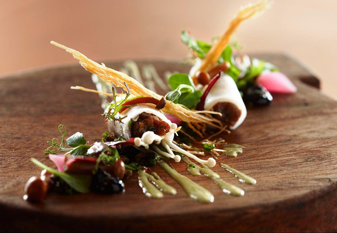 Prato do Indochine, restaurante na Delaire Graff Estate | Créditos: divulgação