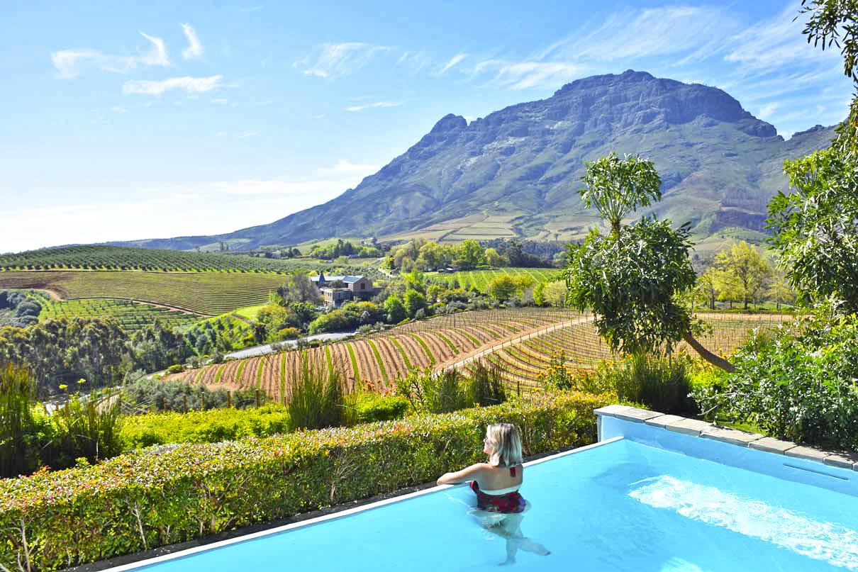 Dias lindos em Stellenbosch - set/2016 | Delaire Graff Estate Lodges