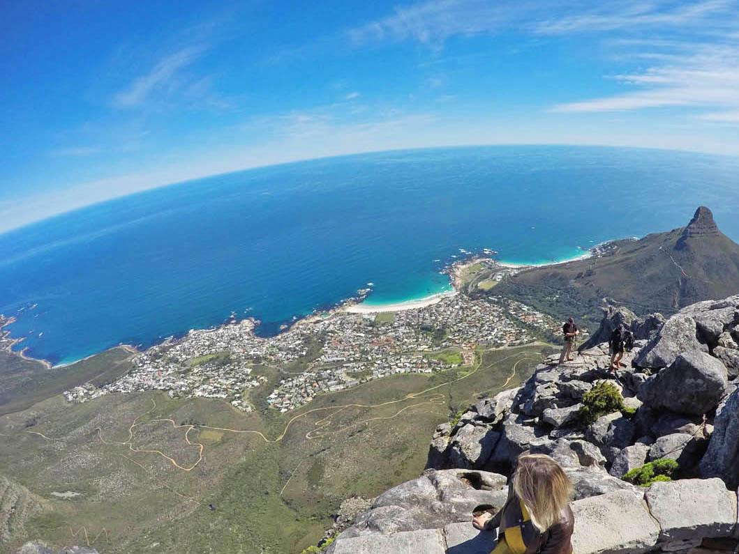 Dias lindos e ensolarados na Cidade do Cabo | setembro/2016