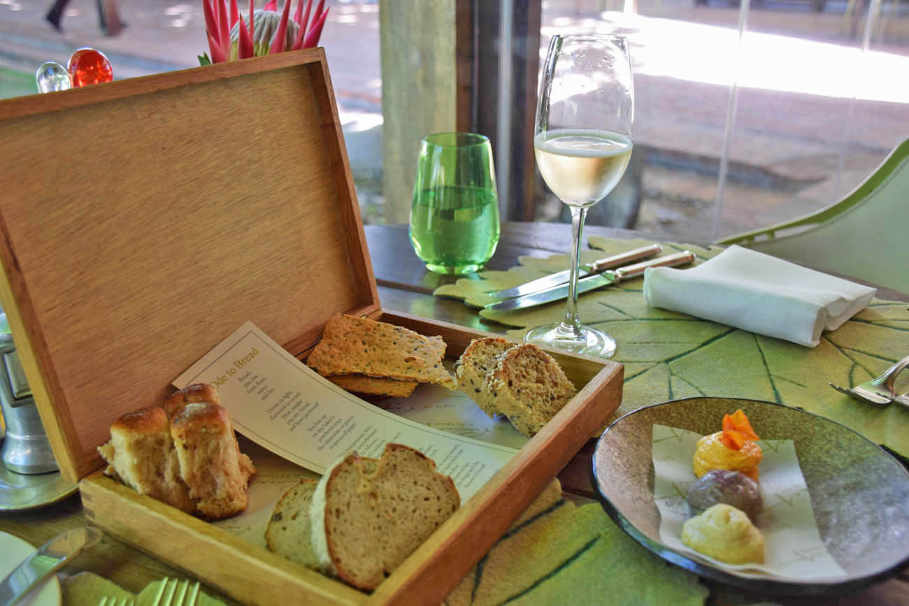 Couvert fofo! Restaurante Pierneef - Vinícola La Motte - Franschhoek | Créditos: Lala Rebelo