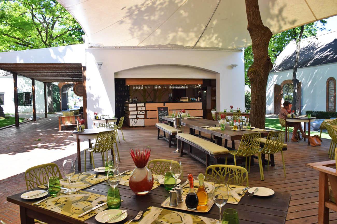 Restaurante Pierneef - Vinícola La Motte - Franschhoek | Créditos: Lala Rebelo