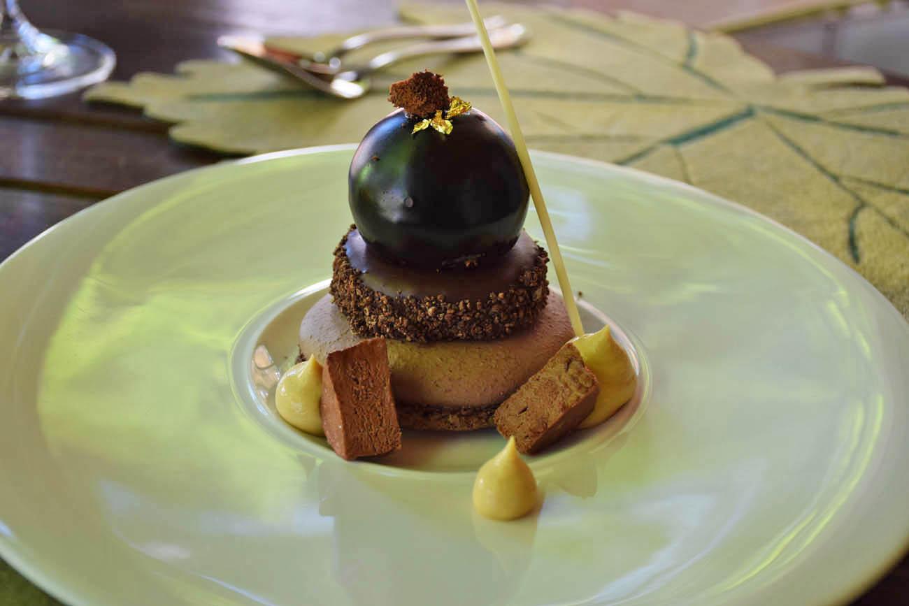 Sobremesa (dos dois!!) - Restaurante Pierneef - Vinícola La Motte - Franschhoek | Créditos: Lala Rebelo