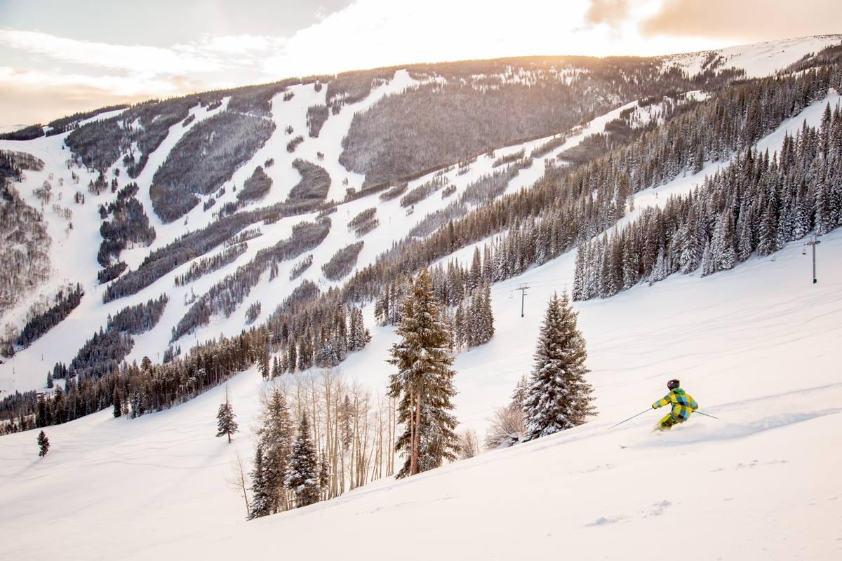 Beaver Creek Mountain no inverno | foto: divulgação