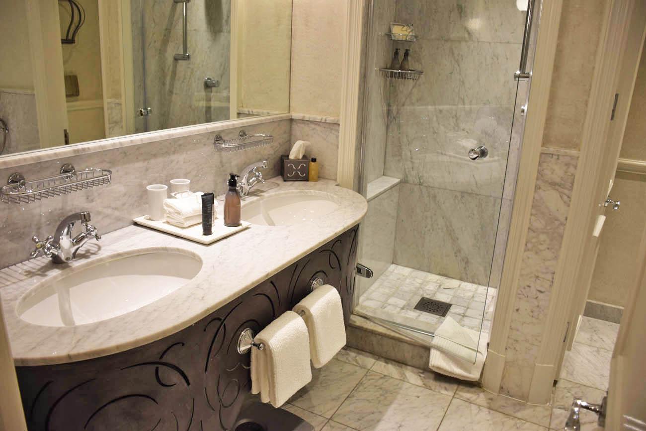 Banheiro do quarto - Cape Grace Hotel - Cape Town