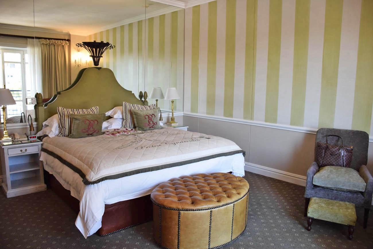 Nosso quarto lindo no Cape Grace