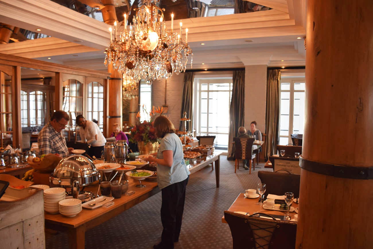 Buffet de café da manhã - Cape Grace Hotel - Cape Town