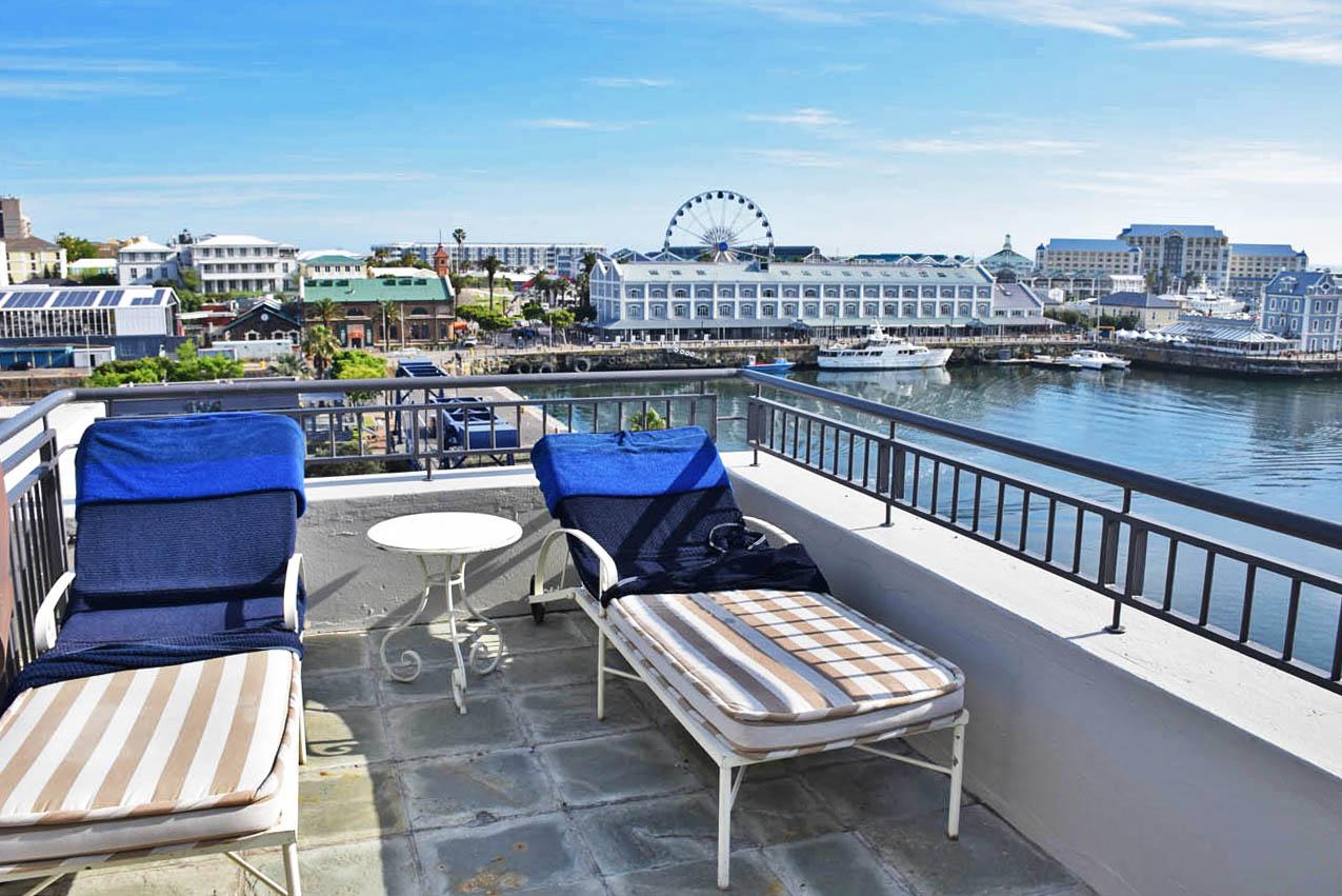 Penthouse - Terraço enorme e vista top! | Cape Grace Hotel, Cape Town