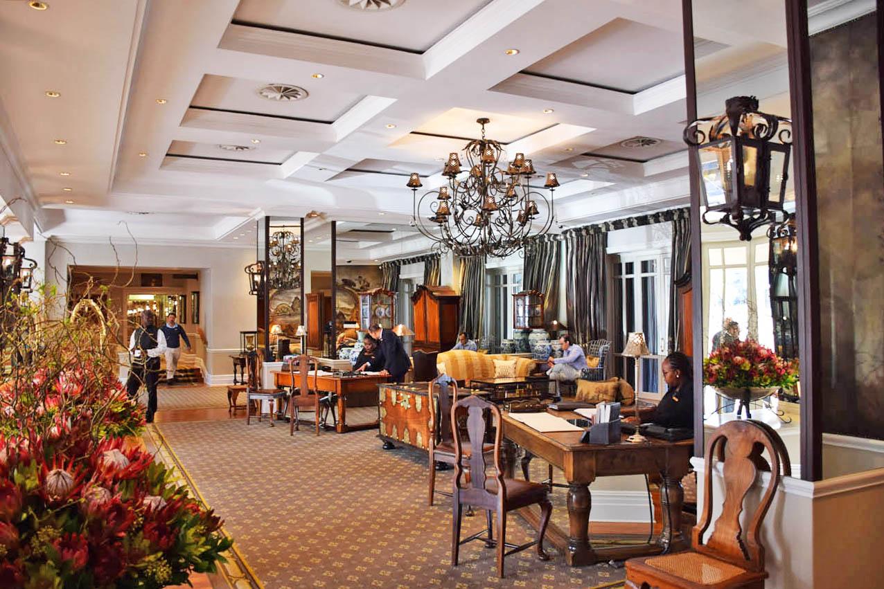 Lobby do Cape Grace Hotel - Cape Town