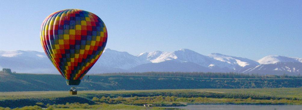 Passeio de balão no Colorado | foto: divulgação Grand Adventure Balloon