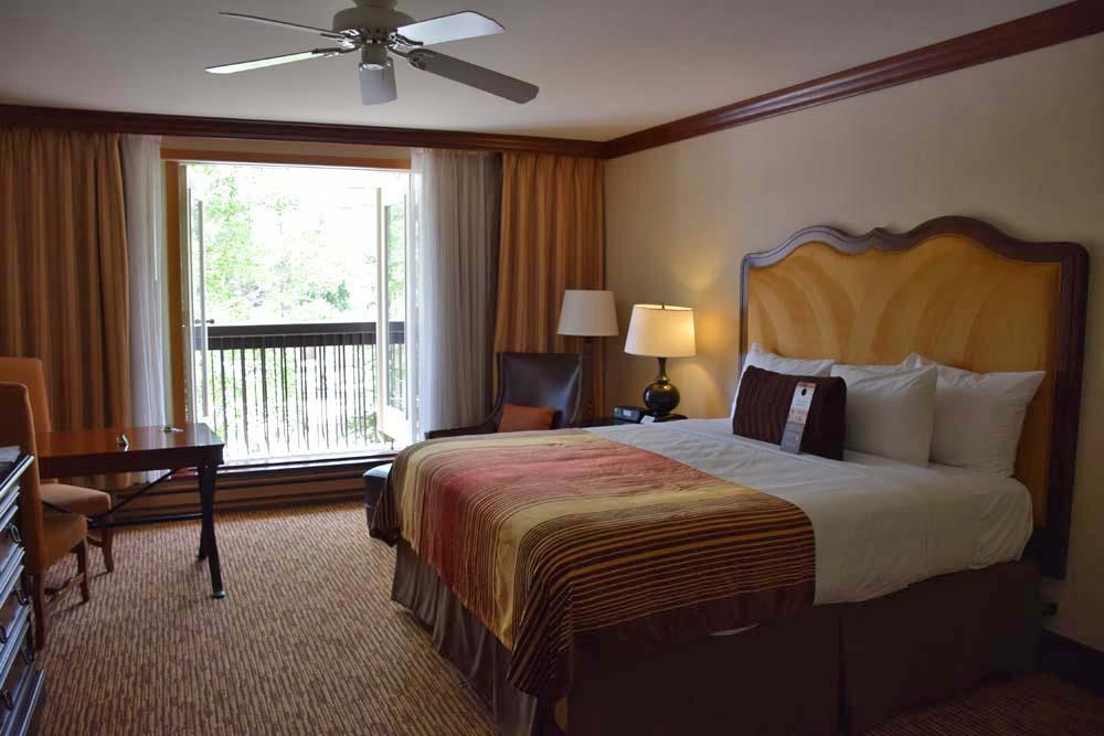 Nosso quarto no Hotel Vail Cascade - Colorado