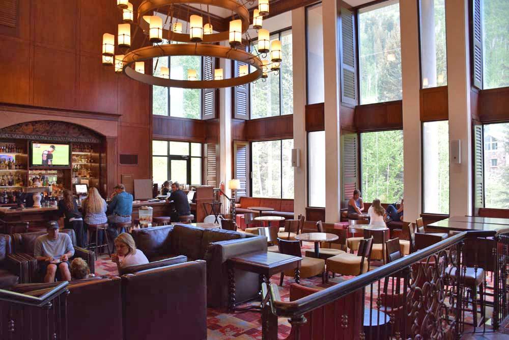 Interior do Hotel Vail Cascade - Colorado