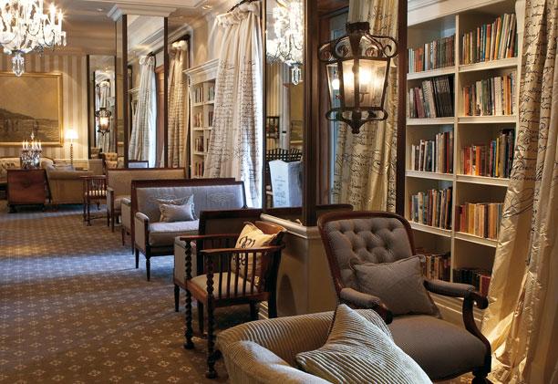 Biblioteca do Cape Grace Hotel | créditos: divulgação