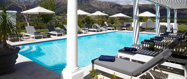 Piscina do Mont Rochelle Vineyards Hotel | Créditos: divulgação