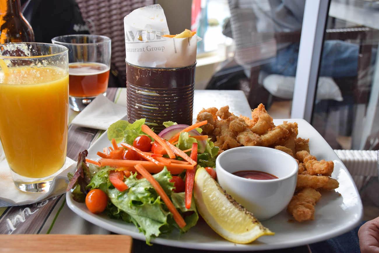O prato de lula imperdível para quem gosta de frutos do mar | Restaurante Saveur - Simon's Town