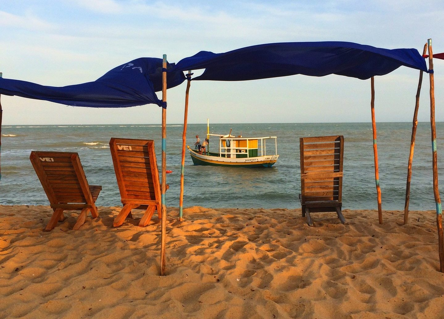Praia da Barra em Caraíva - Bahia | Créditos: divulgação caraiva.com.br