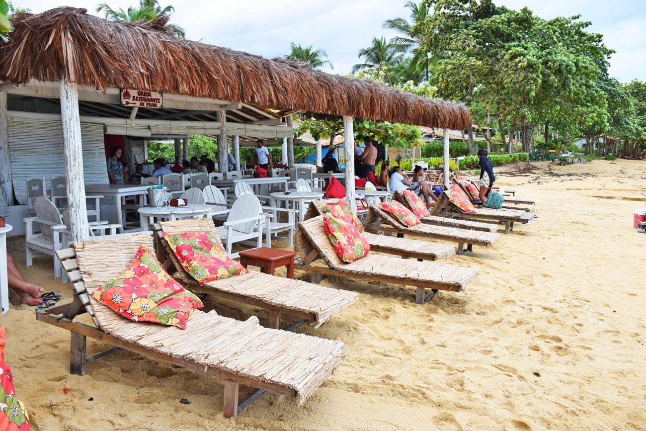 Barraca de praia Oribá na Praia do Espelho - Bahia | Créditos: Lala Rebelo